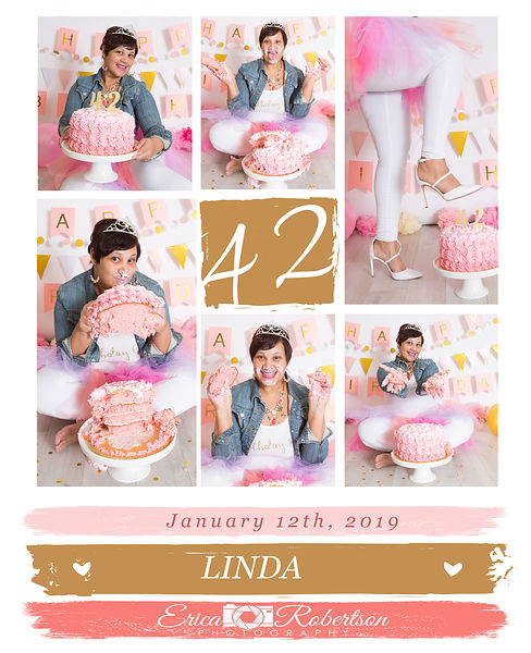 Cake.smash.collage.Linda.2