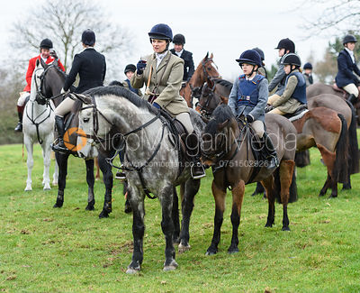 The Belvoir Hunt at Merrivale Farm 5/1