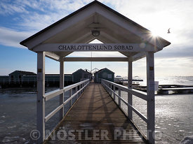 Entrance to Charlottenlund Sea Bath