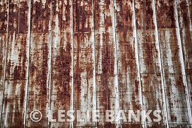 Rusted Metal Roof Background