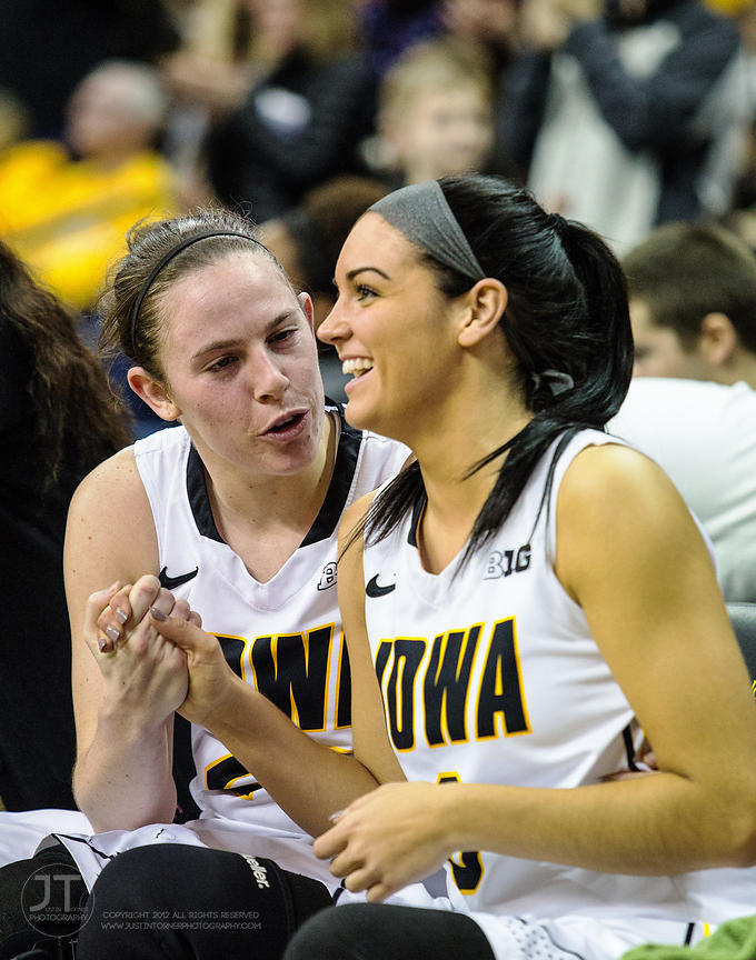P-C Women's Basketball, Iowa vs Penn State, December 28, 2014