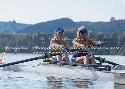 Taken during the World Masters Games - Rowing, Lake Karapiro, Cambridge, New Zealand; ©  Rob Bristow; Frame 512 - Taken on: T...