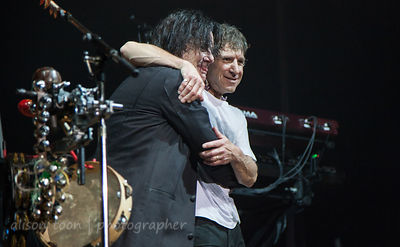 Steve Hogarth and Pete Trewavas, Sunday of the Marillion UK weekend, 2013, Wolverhampton