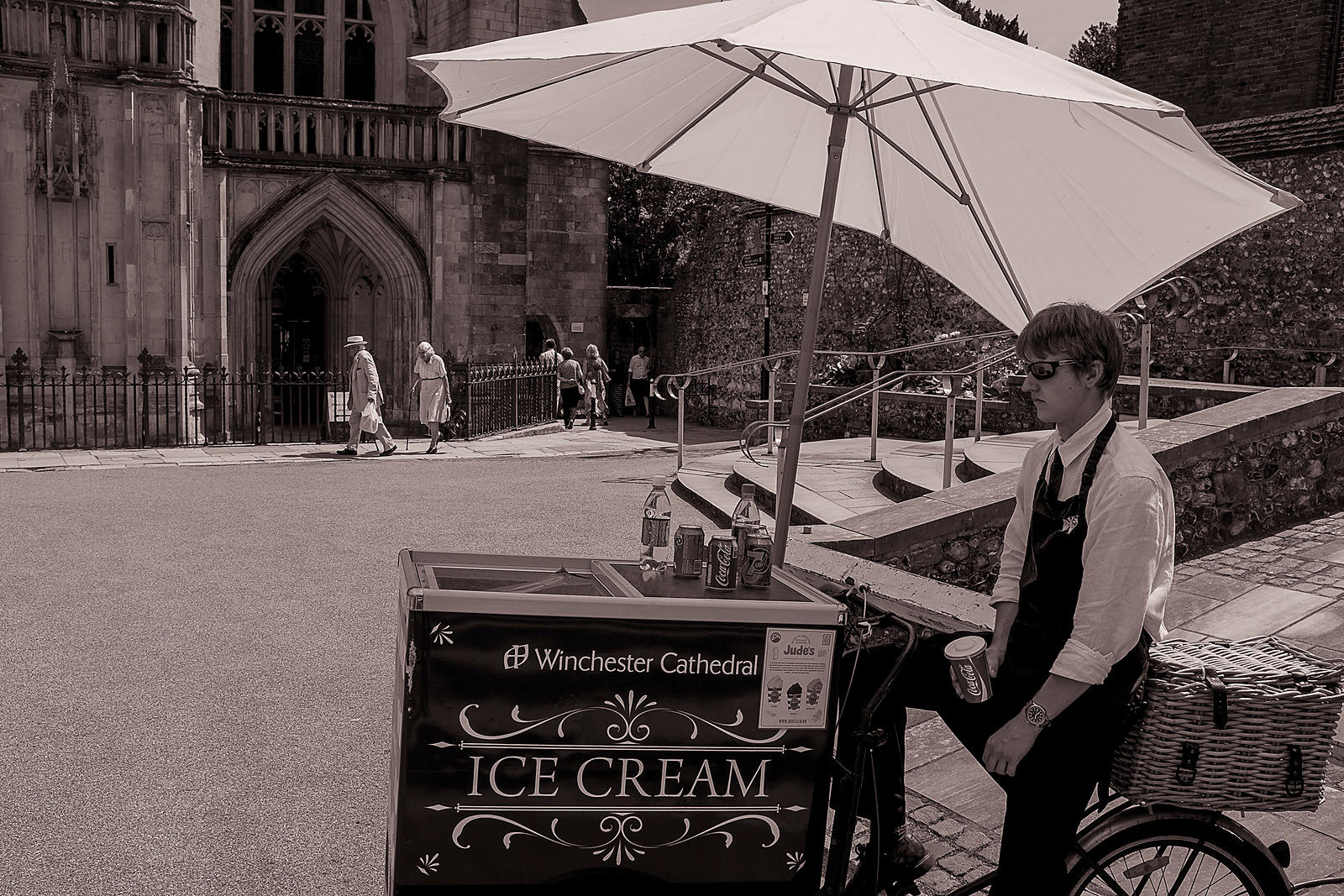Cathedral Ice Cream | Winchester | July 2014