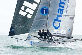 18ft Skiff European Grand Prix, Sandbanks, 20160904203