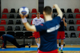 Siiarhei Shylovich during the Final Tournament - Semi final match - Vardar vs Meshkov Brest - Final Four - SEHA - Gazprom lea...