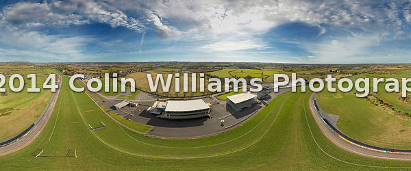Aerial Panorama Down Royal Race Course, Lisburn