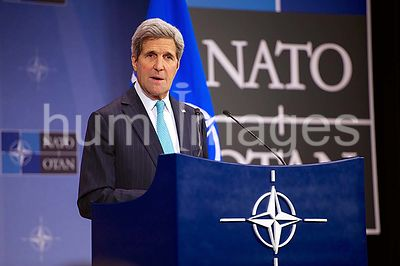 Secretary Kerry Holds News Conference Following Array of Multinational Meetings at NATO Headquarters in Belgium