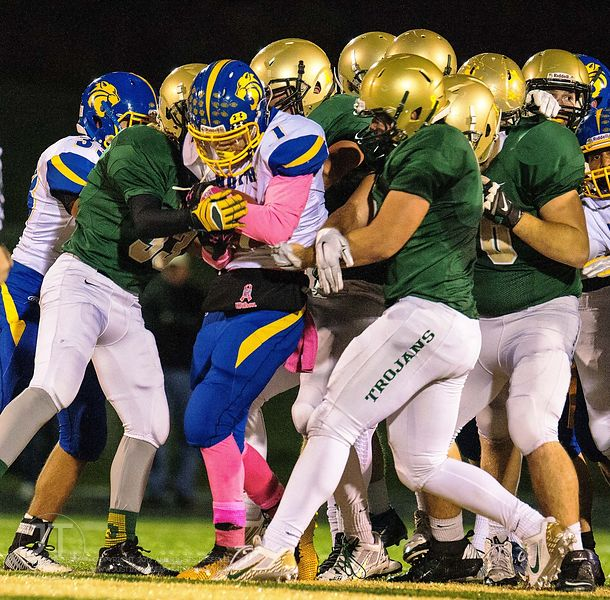 P-C Prep Football Iowa City West vs Davenport North, October 17, 2014