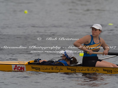 Taken during the NZSSRC - Maadi Cup 2017, Lake Karapiro, Cambridge, New Zealand; ©  Rob Bristow; Frame 560 - Taken on: Friday - 31/03/2017-  at 08:42.41
