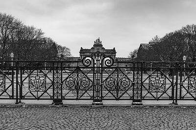 Gate at the Cinquantenaire parc, Brussels