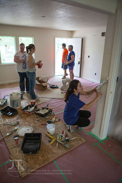 Iowa Valley Habitat for Humanity, ACT Volunteers