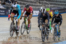 Master B Men Keirin 1-6 Final. Canadian Track Championships, Saturday Morning Session, September 29, 2018