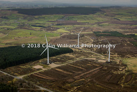 Aerial photograph - Crockaberryvalley Wind Farm, Ballygawley