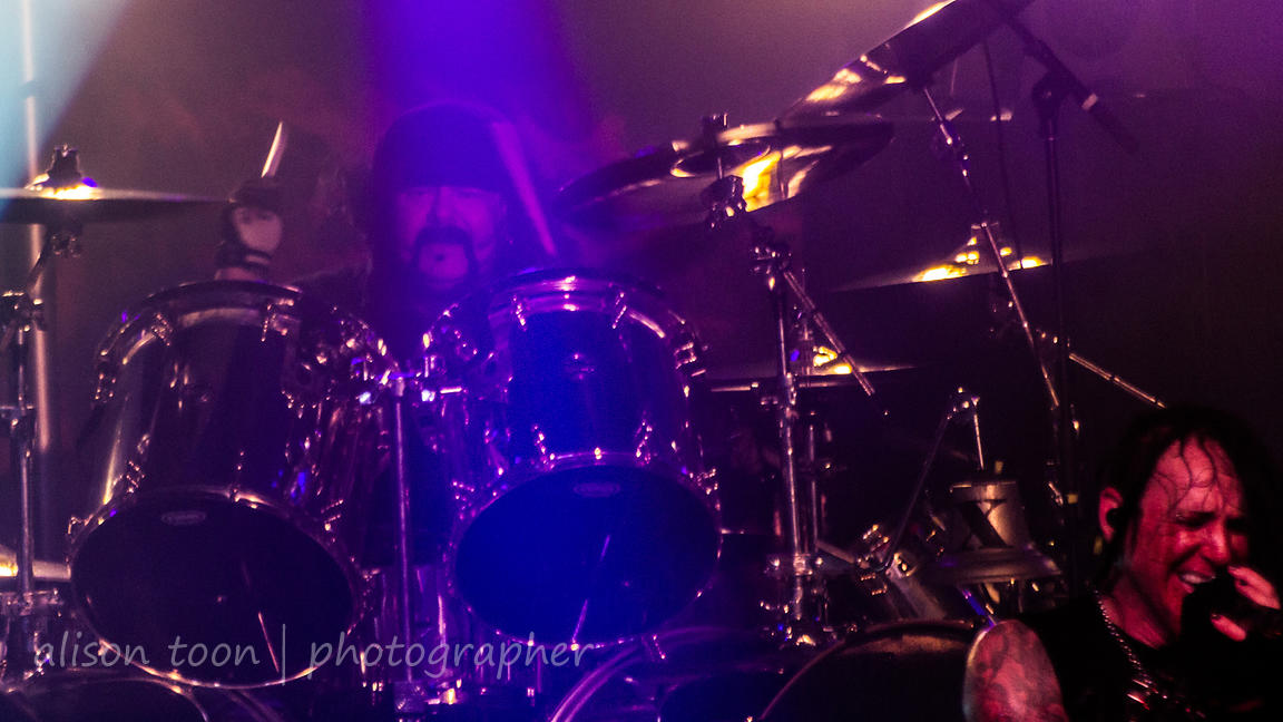 Vinnie Paul, drums, HELLYEAH