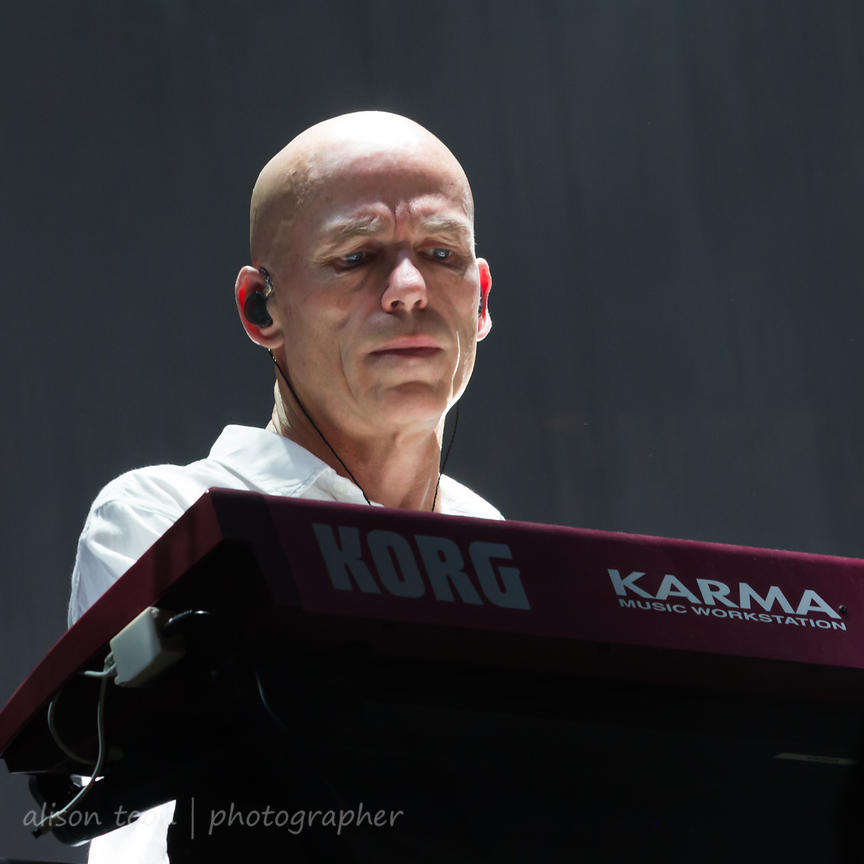 Mark Kelly, keyboards and effects,, Marillion