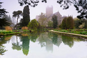 The Wells Garden where the springs which give the town its name emerge from the ground to create tranquil pools surrounded by...