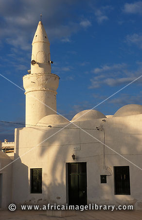 Mosque of the Turks, distinctive Jerban mosque, Jerba, Tunisia