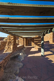 Wayside Observation Shelter Built by the CCC at Navajo Bridge