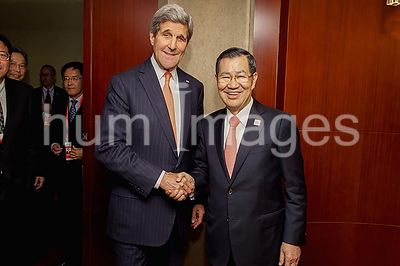 Secretary Kerry Meets With Former Vice President Siew of Taiwan Following APEC Ministerial Meeting in Beijing