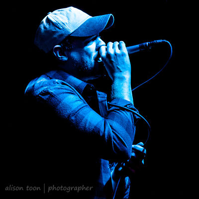 Garret Rapp, vocals, The Color Morale