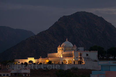 Gulab Niwas Palace Hotel at Parikarama Marg, Pushkar , Rajasthan, India