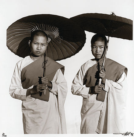 Two Novice Monks