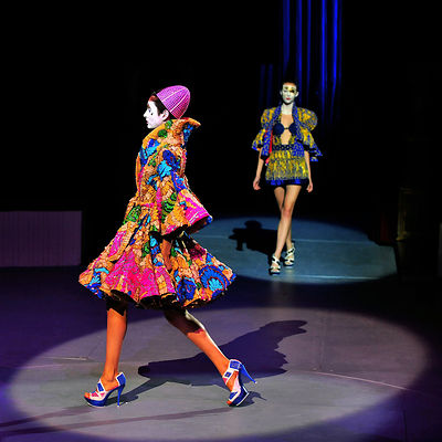 Manish Arora, spring/summer 2009  pret-a-porter collection show Paris..