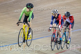 U17 Men Scratch Race. Ontario Track Championships, March 2, 2019