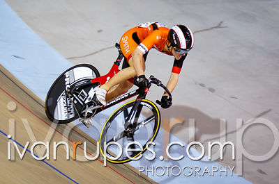 Elite Men Sprint 1/4 Final, Ontario Track Championships, Day 2, April 11, 2015