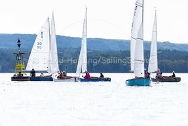 Dolphin 36 racing in Poole Week 2017