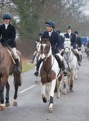 The Cottesmore at Furze Hill 24/1/12