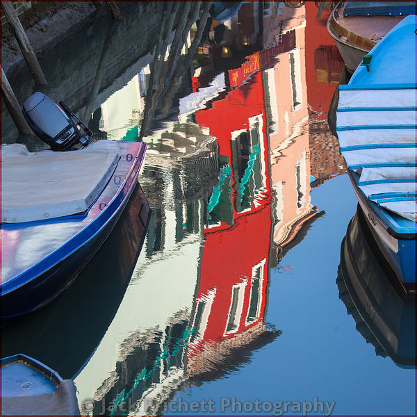 Reflections in Venetian canal