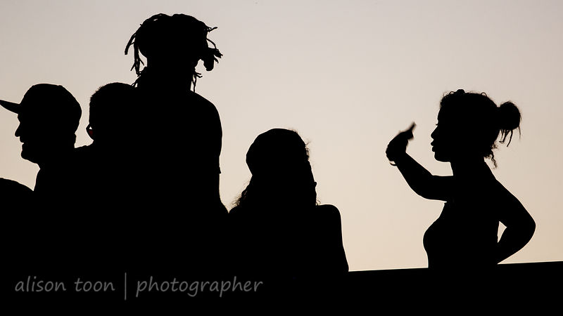 Silhouettes at TBD Fest 2014