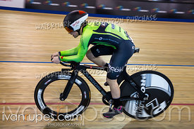 Junior Women Pursuit 3-4 Final. Canadian Track Championships (Jr/U17/Para), April 13, 2018