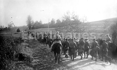 German prisoners at Verdun during WWI