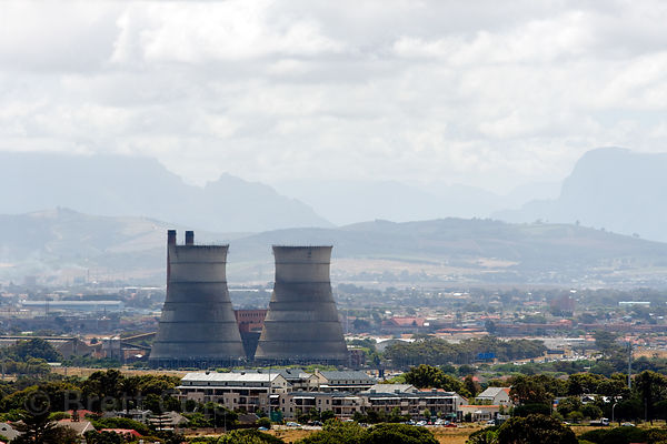 Nuclear power plant in Cape Town, South Africa