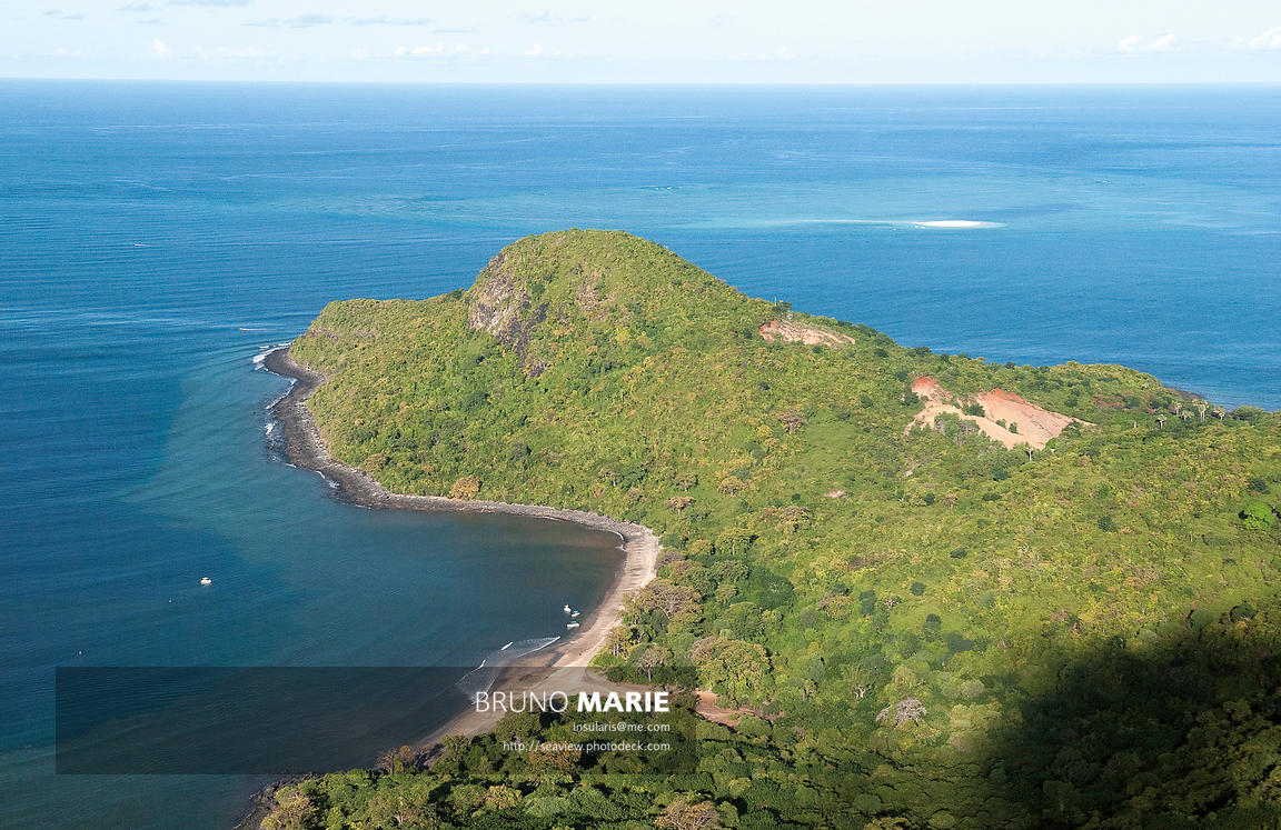 La pointe Saziley, Mayotte Océan Indien