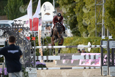 Khalid Mohammed A S AL EMADI ,(QAT), TAMIRA IV during Longines Cup of the City of Barcelona competition at CSIO5* Barcelona a...