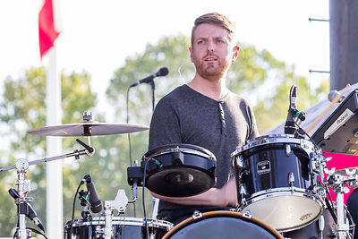 Chris Carhart, drums, Phantogram