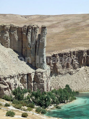 Lakes region of Bamyan Province, Afghanistan