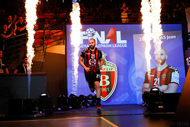 Joan Canellas during the Final Tournament - Semi final match - Vardar vs Meshkov Brest - Final Four - SEHA - Gazprom league, ...