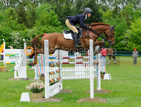 Fiona Davidson - Rockingham Castle International Horse Trials 2016