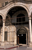 Entrance of Mosque of Muhammad'Ali, The Citadel, Islamic Cairo, Egypt