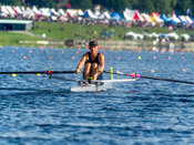 Taken during the NZSSRC - Maadi Cup 2017, Lake Karapiro, Cambridge, New Zealand; ©  Rob Bristow; Frame 2214 - Taken on: Saturday - 01/04/2017-  at 10:31.06