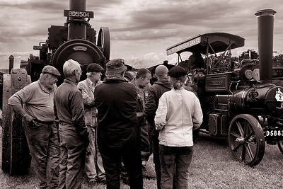 Conversation Piece | Prestwood Steam Rally | July 2014