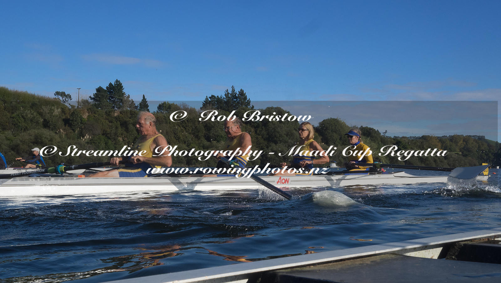 Taken during the World Masters Games - Rowing, Lake Karapiro, Cambridge, New Zealand; ©  Rob Bristow; Frame 1300 - Taken on: ...