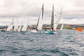 IRC 4 start, Weymouth Regatta 2018, 201809081107.