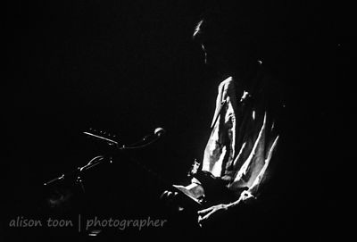 Peter Hammill performing live at the Entrepot, Grenoble, 1994