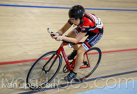 U15 Women Individual Pursuit, Ontario Track Championships, Day 1, April 10, 2015